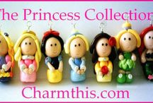 Disney Princess Clay Charms / by CharmThis.com