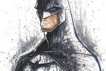 Batman the Dark Knight / Batman is the Baddest Super Hero that's not Super Human! / by Gregory Rozwalka