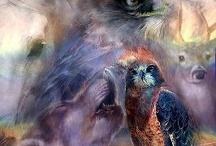 animal spirits / by Lori Wythe-riddell