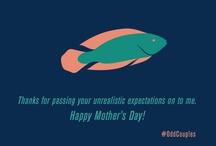 Mother's Day Greetings / Mother's Day Greetings inspired by #OddCouples http://press.princeton.edu/titles/9940.html  / by Princeton Press