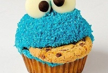 Cookie monster baby shower! / by Kelly Raines