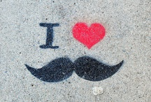 moustache obsession / by Prince Lionheart