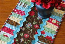 TABLE RUNNERS & MATS / by Marie Trout