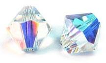 Swarovski Bi-Cone Crystals from Berger Beads / Swarovski Bi-Cone Crystals from Berger Beads www.bergerbeads.net / by Victoria Rubin