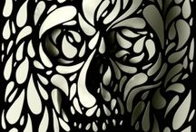 Skulls & Skellys / Skulls and Skeletons / by Bent Whims Studio ~ Caroline Jones