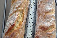 +++ COMME CHEZ LE BOULANGER PATISSIER  +++ / Pains, viennoiseries, pâtes à tartes diverses / by Sylvaine Samson