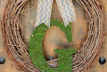 Wreaths & Rugs  / by Heather Beck