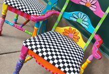 painted furniture / by Cheryl Parrott Jewelry