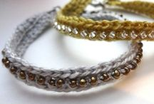 Crafts / Beading- Resin - Macrame - mostly jewelry making / by Denise Marchand