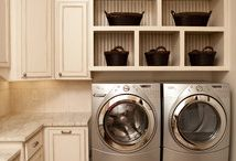 Laundry Room Ideas / by Carrie {Hooked on Decorating}
