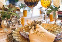 ~ Table Settings ~ / ...for entertaining / by Elaina Valentin~Prinzivalli