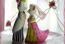 Wedding Cake Toppers / by Joyce Hayes