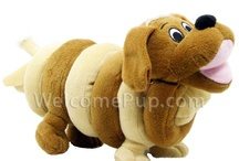 Plush Dog Toys / Plush dog toys for dogs and puppies available at www.WelcomePup.com. / by WelcomePup.com