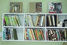 Fabric Storage Ideas/Organization / by Gettysburg Homestead /Mary