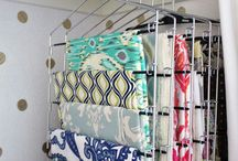 sewing room ideas / by Cindy Lufcy