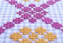 Embroidery/X-stitch/Bordados / by Nidi Silva