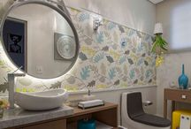 Banheiro / Acessórios, decoração para o banheiro / by Mônica Magali Silveira