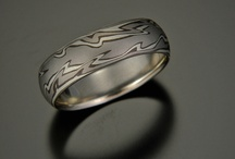 Mokume Gane / Mokume Gane a highly skilled an ancient art form of forging and folding gold to create wood grain like patterns. / by DnH Jewelers