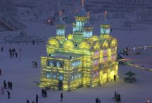 Ice & Snow Sculptures / by Brenda Ison