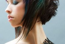 favorite funky haircolors/hairstyles / by Shelley Gill