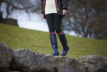 Great British Weather / Wax Jackets, Wellington Boots, Woolly Jumpers - Barbour has been protecting from the Great British Weather for 120 years.  / by Barbour