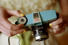 Cameras / by Shelley Haganman (a flair for buttons)