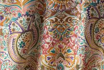 Fabric / A collection of favorite fabrics for interior design. / by Allison Arnett