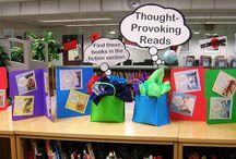 School - Library Displays / by Kirsten Murphy
