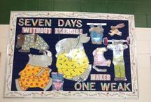 PE bulletin boards / by Wendye Johnson Taville