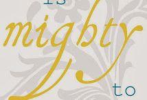 Bible Verses / by Debi 14-in-2014