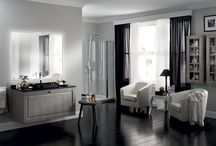 Baltimora Bathrooms / Design by Vuesse | Baltimora expresses a love of the classical, the dream of a unique, sophisticated bathroom, with luxurious solutions that underline a personal lifestyle / by Scavolini