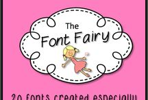 Fonts, Clipart, Frames and Borders / by Melissa Patrick