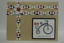Moving Forward-Stampin Up / by Sue Richardson