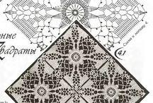 Crochet tablecloth / by Amera Yosri