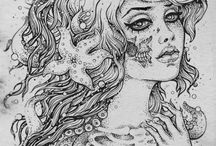 Tattoos and art I love  / by Raigan Messier