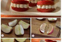 fun snacks  / by Morgan McLeod