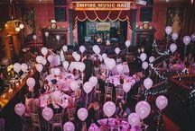 Wedding Balloons / by Whimsical Wonderland Weddings