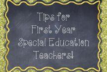 Special education  / by Ashley Mayhew