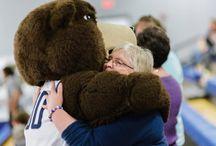 Bear Hugs / Wrap Shawn E. Bear up and give him a hug.  / by Shawnee State University Alumni Association