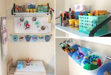 Playroom/art room / by Stephanie Paulk