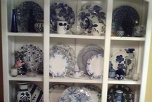 Blue and White dishes / by Lana Kimery