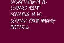 Coaching / by Hillary Zimmer