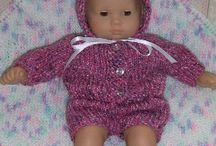 knitting patterns-dolls,fashion dolls, toys, baby clothes, etc. / by Cheryl Keiper