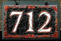 Mosaic House Numbers / by Mosaic Tile Mania