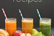 Juicing and Smoothies / Juicing Recipes and Info / by Madison Webb