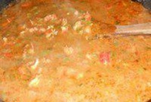 Soups/Stews / Stomach filling soups and stews / by Brandi Best