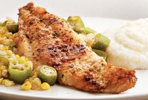 AWESOME SEAFOOD / We love seafood and I always looking for new recipes. / by Marilyn Lisenbee