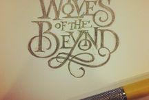 Font Design / by Megan Stahl