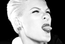My Idol / Alecia Beth Moore (P!nk), My favorite singer of all time. I love her to death, she is an inspiration to me. Keep on rockin' girl!  / by Luci