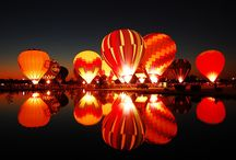 Hot Air Balloons / by Leslie Lewis
